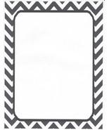 Black Chevron Stationery Printer Paper 26 Sheets - $9.89