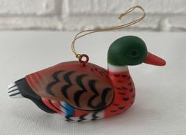 Vintage Mallard Duck Ornament - $10.99