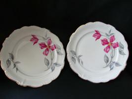 "2 Rosenthal Pompadour Beatrice Bread & Butter Plates 6 1/4"" - $23.75"
