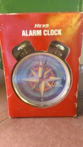 Hero Alarm Clock   NIB  Pacific Life - $37.39