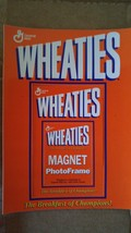Lot of 5 General Mills Wheaties Photo Frame Refrigerator Magnets - $18.68
