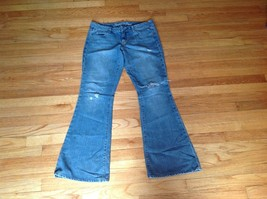American Eagle Outfitters Casual Flare Jeans Women's Size 8R - $29.69