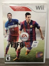 FIFA 15 - Legacy Edition (Nintendo Wii, 2014) Complete w/ Case & Manual - $14.84