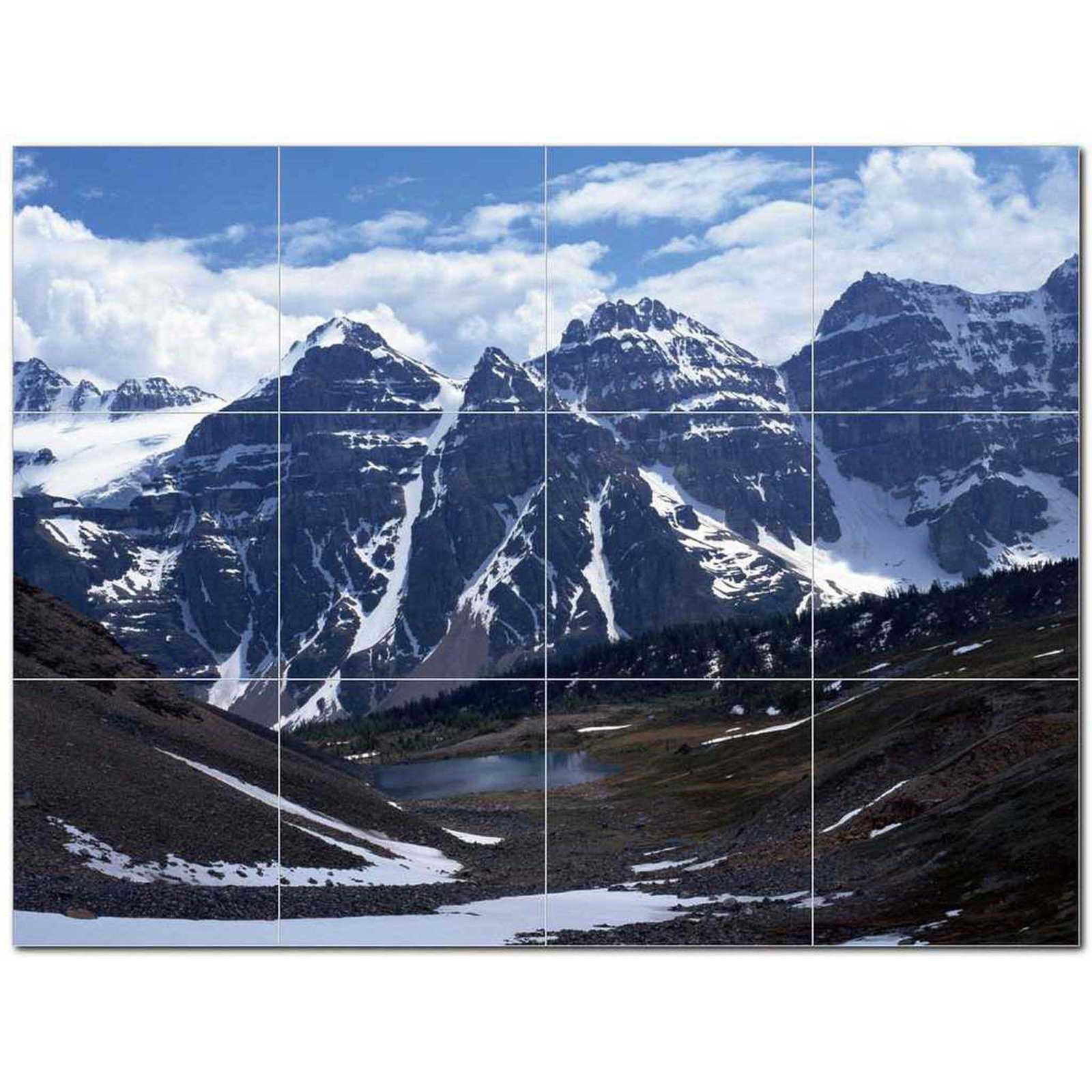 Primary image for Winter Picture Ceramic Tile Mural Kitchen Backsplash Bathroom Shower BAZ406423