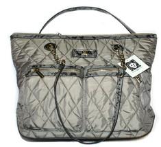 Anne Klein AK Zip Closure Tote/Purse/Bag Gray (MSRP $99.00) - $67.99