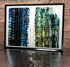 Painted Building Reflections illustration Print... - $11.99 - $49.99