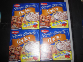 Lipton Onion Soup & Dip Mix 4-2 oz - $7.66