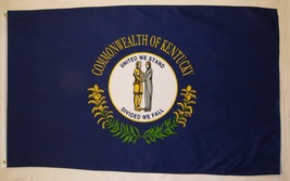 State of Kentucky Flag 3' X 5' Indoor Outdoor State Banner - $9.95