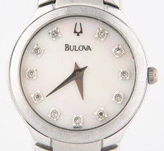 Bulova Women's Stainless Steel Quartz Watch wit... - $190.08