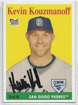Kevin Kouzmanoff Signed Autographed 2007 Topps Heritage Card - $9.50