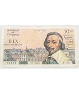 1961 France Ten Nouveaux Francs VF 10NF New Fra... - $123.75