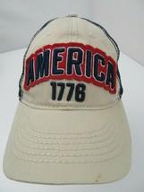 America 1778 Mesh Trucker Snapback Adult Cap Hat - $12.86