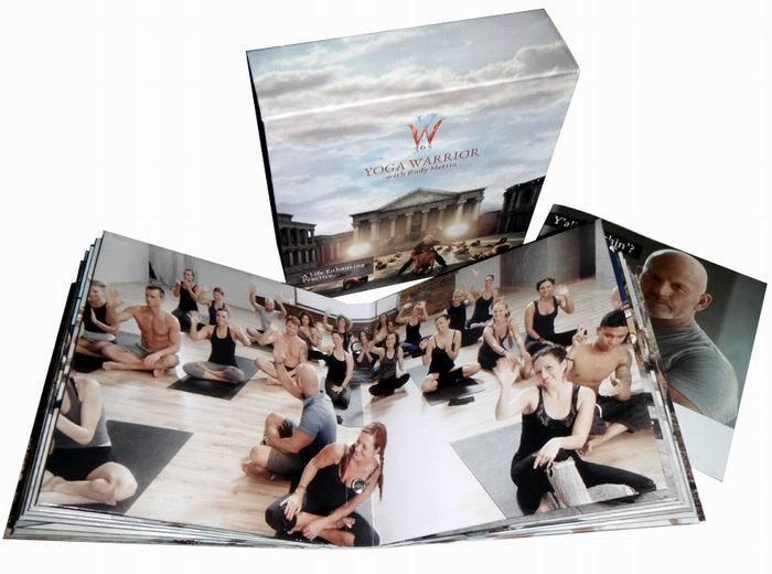 Yoga Warrior 365 with Rudy Mettia DVD Box Set 14 Disc Free Shipping
