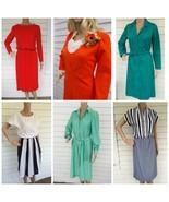Vtg Dresses Lot 6 Dress Clothing Retro Summer 7... - $39.00