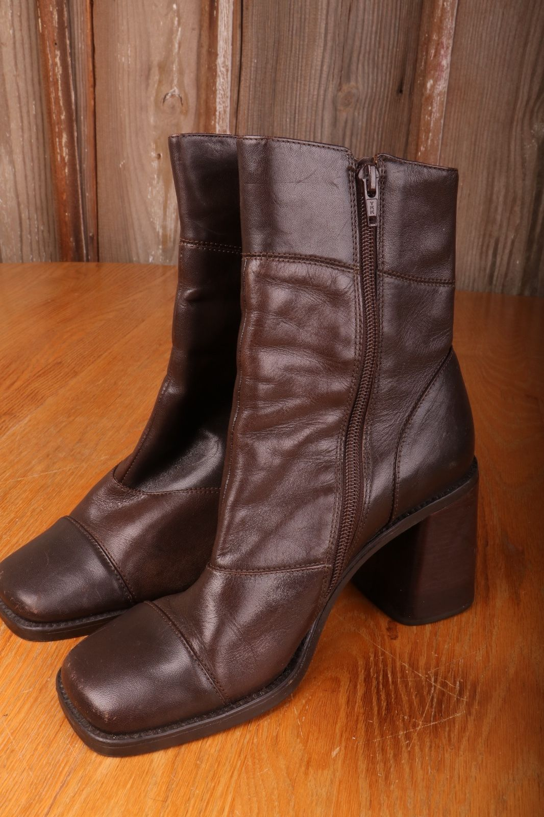 bakers brown zip up boots womens shoes size and 18 similar