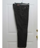 "New 8 P Lee Womens Faded Black Straight Leg Relax Waist: 30 x 27"" Inseam... - $7.99"
