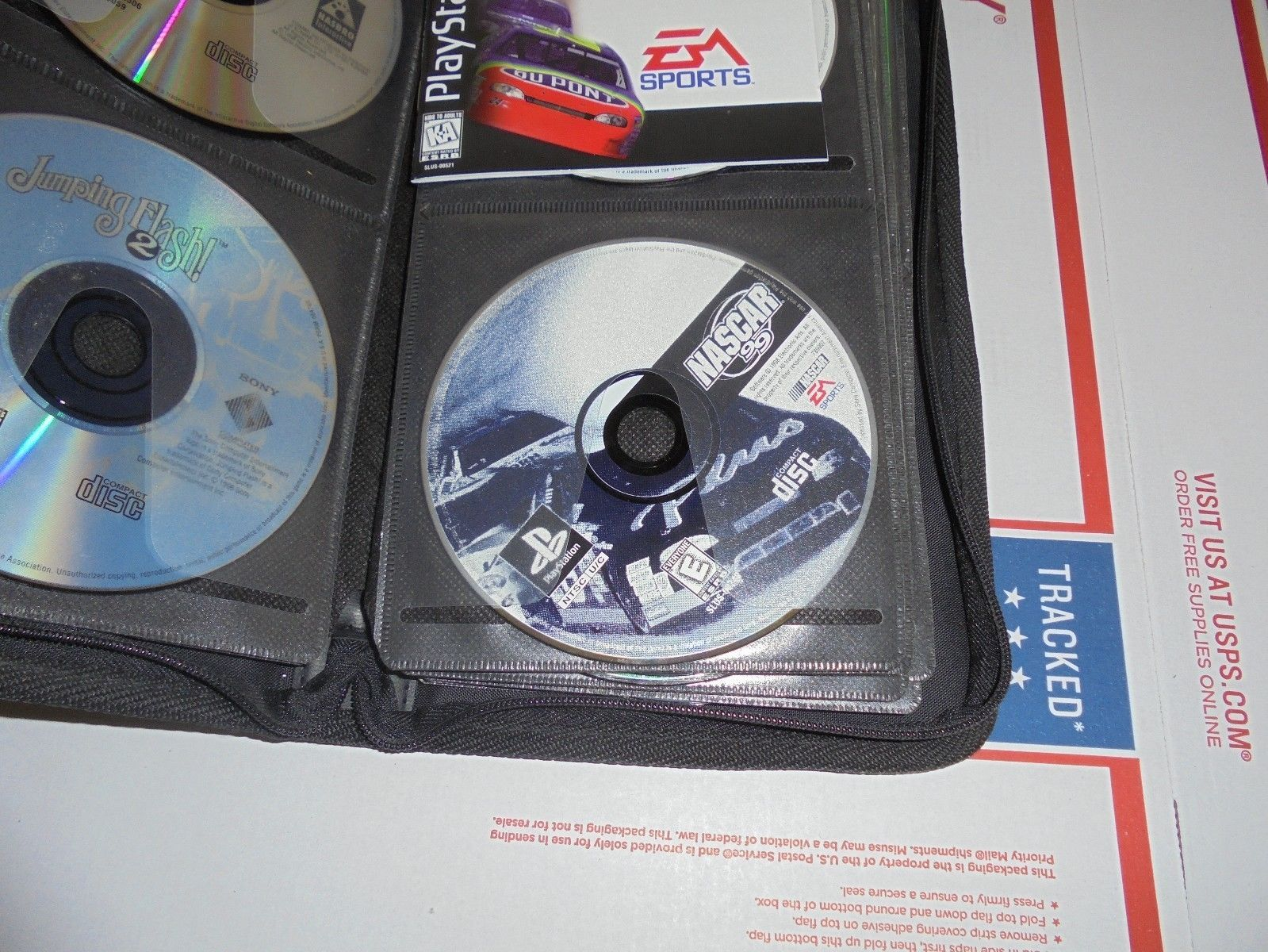 NASCAR 99 (Sony PlayStation 1, 1998) PS1 Video Game Disc Only
