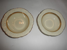 CROWN DUCAL VINTAGE BOWLS ENGLAND 6 inch SET OF 2 ,,,, FREE SHIPPING - $19.75