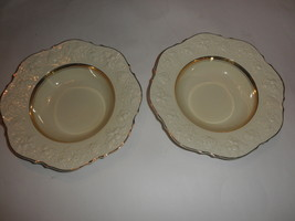 CROWN DUCAL VINTAGE BOWLS ENGLAND 9 inch SET OF 2 ,,,, FREE SHIPPING - $24.70