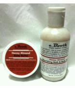 c. Booth Honey Almond  Travel Lot Body Butter + Bath & Body Wash  - $10.50
