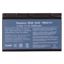 Replacement Laptop Battery 5200mAh 11.1V for Acer GRAPE32 - $24.30