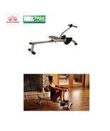 Rowing Rower Machine Arms Home Gym Workout Legs Upper Body Dev...