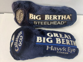 Callaway Golf Big Bertha Hawk Eye Steelhead 1 5 Titanium Driver Head Covers - $31.68