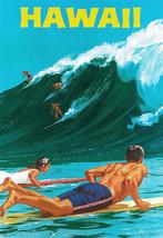 Hawaii Travel Advertisement Poster Hawaiian Vintage Retro Reprint Ready ... - $13.86