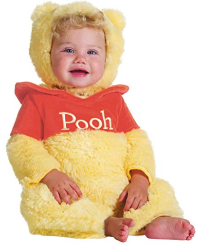 a517b5bc3213 WINNIE THE POOH Disney Baby Infant 12-18 Months Halloween Costume Dress Up