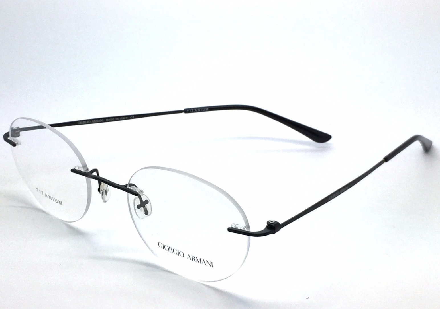 c3d54f6a53d New GIORGIO ARMANI Rimless Titanium and 50 similar items
