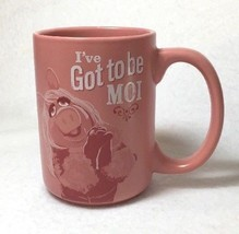 Miss Piggy Hallmark Mug I've Got To Be Moi Pink Disney Muppets Cup - $21.77