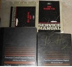 1995 LINCOLN MARK VIII 8 V III Service Shop Repair Manual Set FACTORY 95... - $257.35