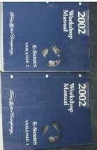 2002 Ford Econoline E-Series Van Service Shop Repair Manual Set BRAND NE... - $178.20