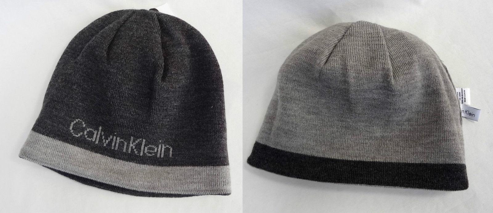 d159f34ae3e Calvin Klein Men s REVERSIBLE Beanie  77235 and 50 similar items