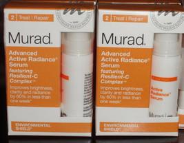 Murad Active Radiance Serum (0.17 oz) each x 2 Bottles New no box  - $9.85