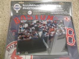 Mlb Boston Red Sox Baseball Picture FRAME-PHOTO Light Up Acrylic 11X14 Series - $18.76