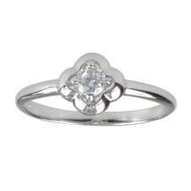 Aura 925 Sterling Silver White Cubic Zirconia Ring (SR01717W-CZ-7) - £13.33 GBP