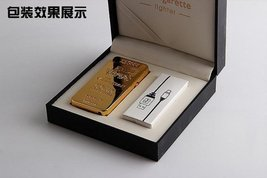 Gold Lion Creative Windproof USB Charging Pulse Arc Metal Electronic Cigarett... image 2