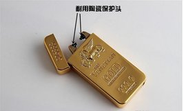 Gold Lion Creative Windproof USB Charging Pulse Arc Metal Electronic Cigarett... image 6