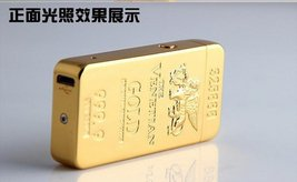 Gold Lion Creative Windproof USB Charging Pulse Arc Metal Electronic Cigarett... image 7