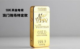 Gold Lion Creative Windproof USB Charging Pulse Arc Metal Electronic Cigarett... image 8