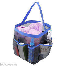 Shower Caddy Tote Toiletry Gym Beach Pool Dorm Baby Diaper Bag Makeup Ba... - ₨434.12 INR