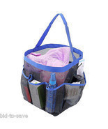 Shower Caddy Tote Toiletry Gym Beach Pool Dorm Baby Diaper Bag Makeup Ba... - £4.84 GBP