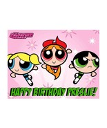 Powerpuff Girls edible party decoration cake topper - $9.99