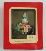 Heirloom Collection King Honey Bunny  Christmas Ornament Carlton Cards 120494-7 - $14.85