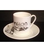 FATHER TED ESPRESSO CUP AND SAUCER British Television Comedy IRELAND - $20.00