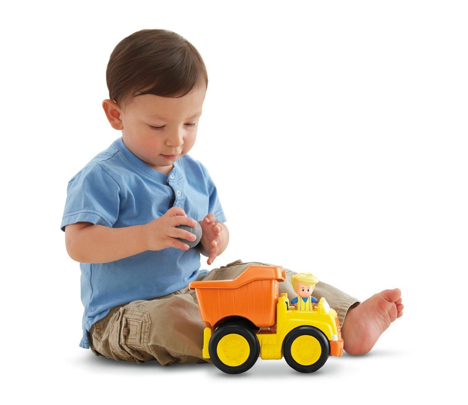 Fisher Price Little People Dump Truck - BDY81 - New image 7