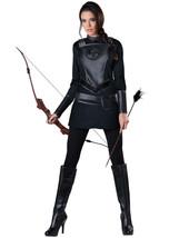 Adult Womens Warrior Huntress Punk Movie Goth Halloween Costume Cosplay 11092 - $34.95