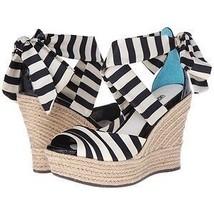 UGG Peeptoe Wedge Nautical Stripes Womans Heel Shoe - $1.369,69 MXN