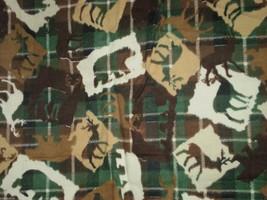 Flannel JoAnn Fabric Outdoor Bears, Deer, Moose... - $17.95